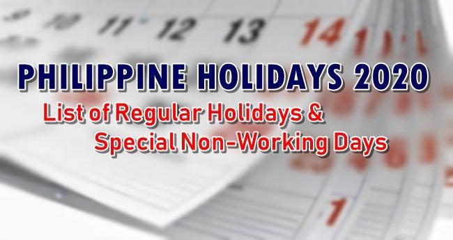 菲律宾总统府公佈明年假日