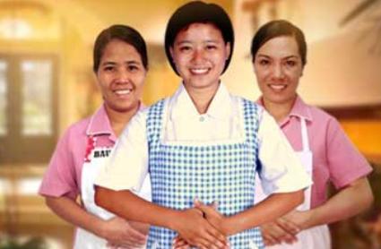 菲律宾大马尼拉区佣人最低工资下月起升至5000披索