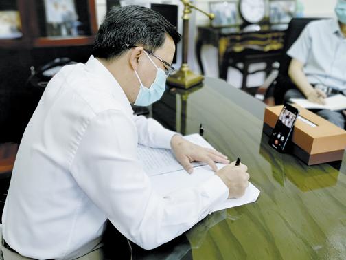 大使馆协调华社成立菲律宾抗疫委员会 四个