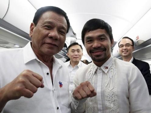拳王巴乔任执政党主席 问鼎菲律宾总统宝座仍未知数