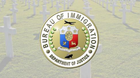 菲律宾移民局促已故外侨亲友交回大字