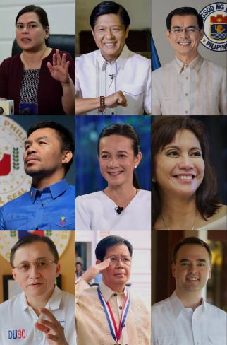 菲律宾总统选举开打 杜特地政敌角逐大位