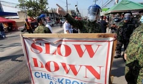 尽管菲律宾政府宣布进入GCQ  国都区加四省边检站仍保留