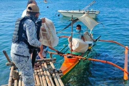 菲律宾运载新冠疫苗船只倾覆