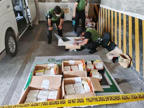 菲律宾马尼拉市公寓查获2.5亿披索沙雾