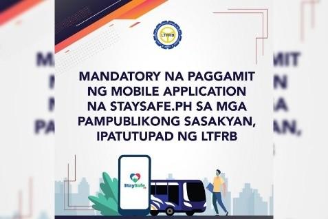 菲律宾乘坐公车需使用StaySafe手机
