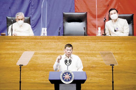 """最后国情咨文 菲律宾总统感谢中国 感慨"""""""