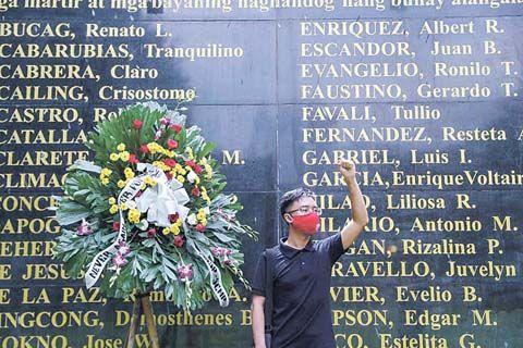 纪念马科斯军管令49周年 菲律宾副总统吁抵制历史修正主义