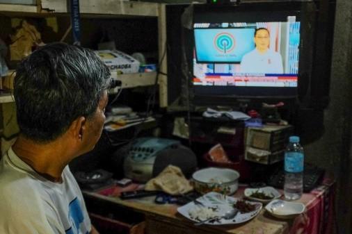 菲律宾人主要靠电视获取政治新闻
